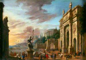 Seaport and Triumphal Arch
