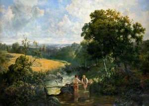 A Devon Footbridge