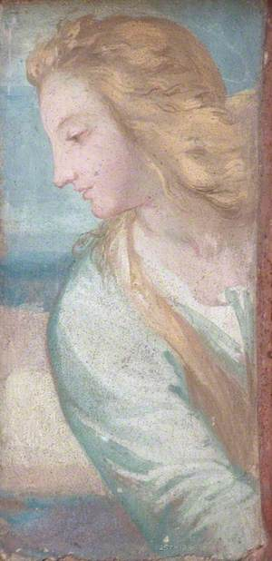 Bust of a Woman in Profile