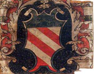 Shield with a Coat of Arms