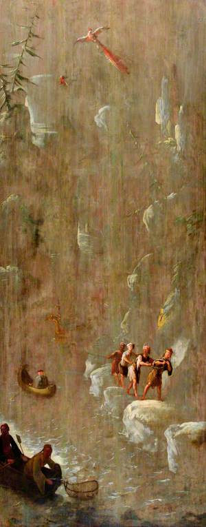 Fishermen in a Gorge