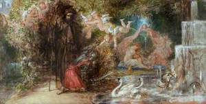 Sir Guyon Arriving at the Bower of Bliss