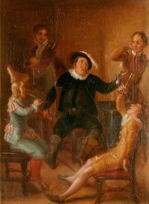 Scene from William Shakespeare's 'Twelfth Night'