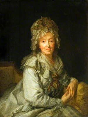 Portrait of a Lady in a White Cap