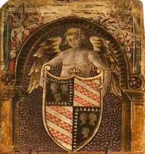 A Cupid with a Coat of Arms