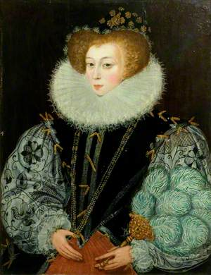 Mrs John Croker, née Frances Kingsmill (c.1564–c.1627)