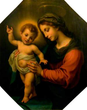 The Virgin Holding the Standing Infant