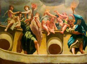 Apostles and Angels at the Assumption