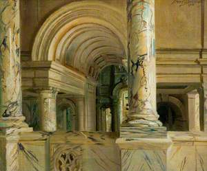 The Entrance Hall of the Victoria and Albert Museum