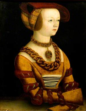 Portrait of a Lady in a Costume of c.1530