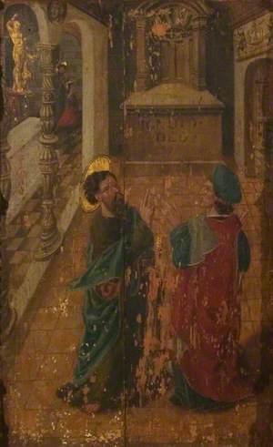 Saint Denis Converted by Saint Paul