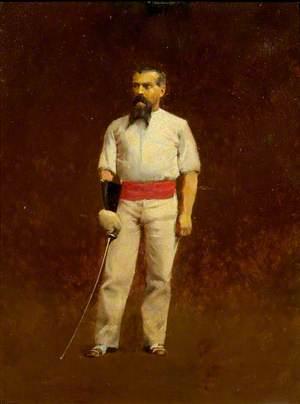 Sir Richard Burton (1821–1890), Dressed for Fencing