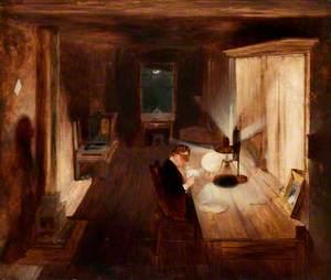 John Jackson (1801–1848), the Wood-Engraver at Work