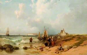 Sands near Boulogne