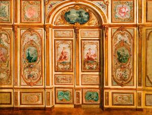 The Salle du Conseil, Fontainebleau