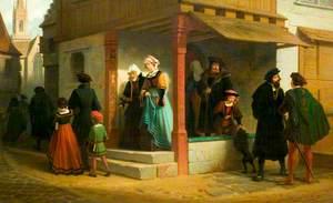 Going to Church: A Sixteenth Century Costume Piece