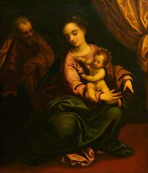 The Virgin and Child with Saint Joseph