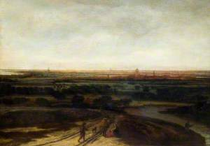 A Dutch Landscape: View of a Flat District