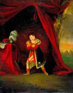 William Robert Grossmith (1818–1899), as Richard in 'Richard III' by William Shakespeare