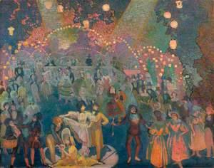 Scene from 'Jardin des amoureux'