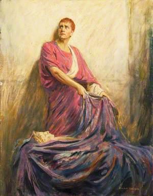Herbert Beerbohm Tree (1852–1917), as Mark Anthony in 'Julius Caesar' by William Shakespeare