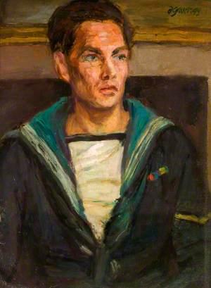 William Squire (1916–1989), in Sailor Costume