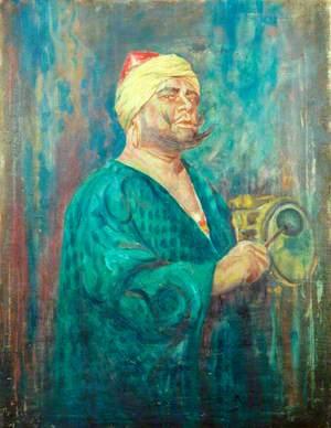 Oscar Asche (1871–1936), as Abu Hasan in 'Chu Chin Chow'
