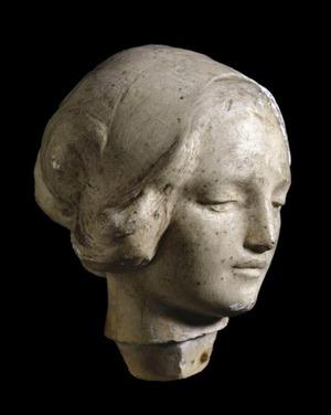 Female Head (perhaps the 'New Testament')