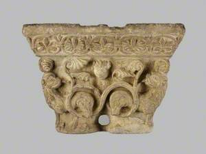 Capital with Lions, Masks and Foliage