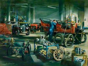 The Vehicle Workshop, Heritage Motor Centre