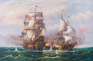 A Seventeenth-Century Sea Battle