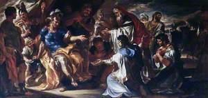 Priam in the Tent of Achilles
