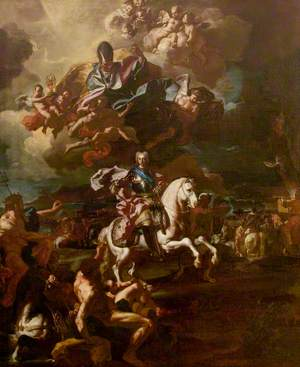 The Triumph of King Charles III at the Siege of Gaeta