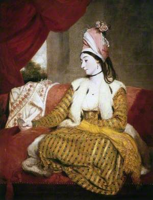 Mrs Baldwin (1763–1839), in Eastern Dress