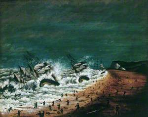 A Terrible Shipwreck: 12th February 1870 at Kingsdown near Deal