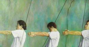 Three Figures with Strings