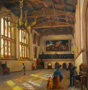 Interior of St Mary's Hall, Coventry