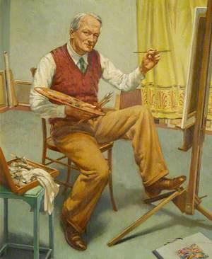 Through the Mirror No. 1 (Self Portrait)