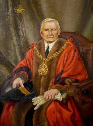 Alderman J. Moseley, Mayor of Coventry (1940)
