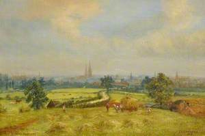 Coventry from Barker's Butts Lane, Warwickshire