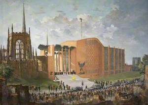 The Consecration of the New Coventry Cathedral, 1962
