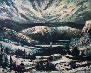 Glendalough, Ireland, in Winter