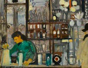 Bar Scene, 'The Salisbury'