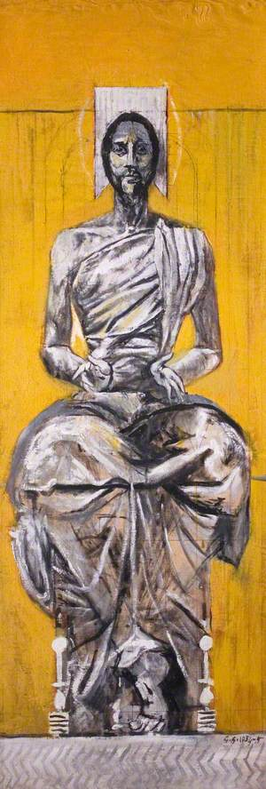 Christ Seated (Christ in Glory)