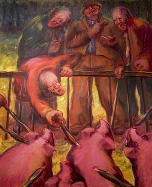 And the Little Pig Said, no.1