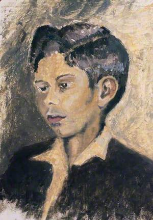 Portrait of an Unknown Asian Boy