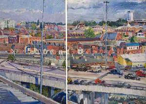 The Ring Road, Coventry, from the Art School Print Room