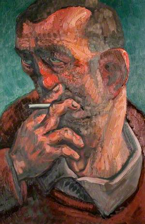 Man with a Cigarette