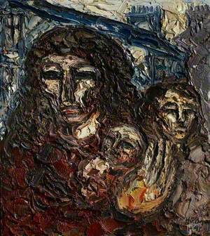 Woman with Two Children