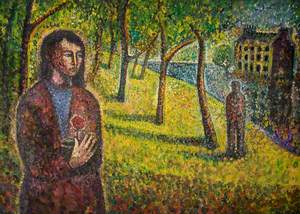 Figures in a Park